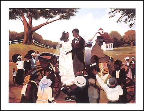 "Old Fashioned Wedding"" by Lionel Talaro print"